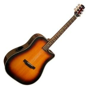 Boulder Creek Solitaire ECR2 C Electro Acoustic Guitar Cabo Sunset