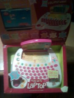 Barbie B Book Learner Delux Laptop Computer 50 Games
