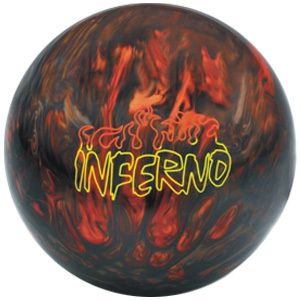 Brunswick Inferno 15 lb Bowling Ball Used But in Great Condition