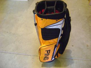 green ping voyage stand golf bag product description new bowling green