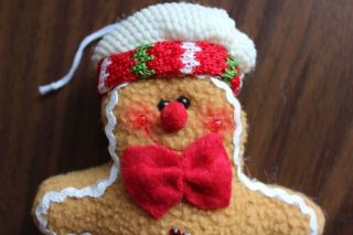 Ginger Bread Boy Girl with Star Body Christmas Hanging Tree