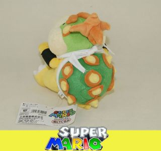 Mario Brothers Figure Plush Doll Soft Toy Bowser Jr Junior DL06