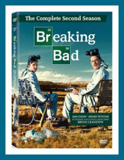 Breaking Bad The Complete Second 2nd Season 2 Two DVD 2010 4 Disc Set