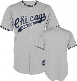 Chicago White Sox 1912 Cooperstown Grey Road Jersey Mens SZ (S M