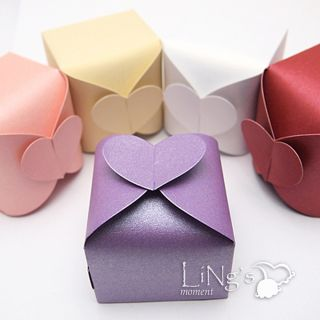 Heart Gift Candy Favor Boxes Bonbonniere Wedding Party Baby Shower