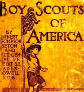 1910 Boy Scout Handbook Scouting Camping Wood Badge CD