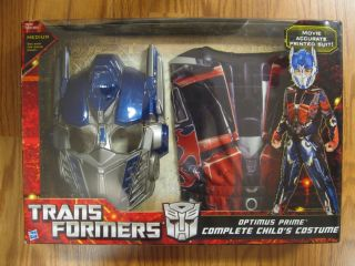 Transformers Optimus Prime Complete Kids Costume New