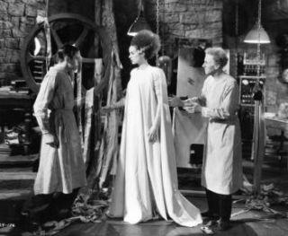 Bride of Frankenstein 50 x 60 Light Soft Fleece Throw Blanket Bedding