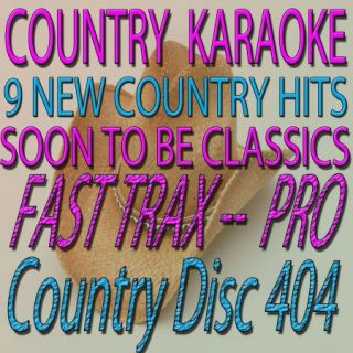 Original Fast Trax 404 from Quik Hits 9 Karaoke CD G Country Tracks