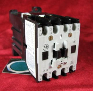 100 A18NZ 3 Allen Bradley Contactor 18A with 24V DC NB714 Coil