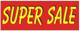 Super Sale Bright Vinyl Banner Sign 3X8