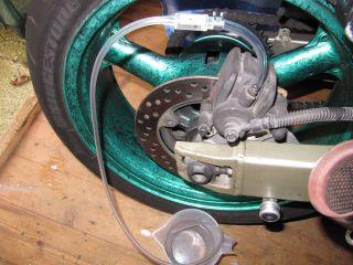 motorcycle car brake bleeding kit tool