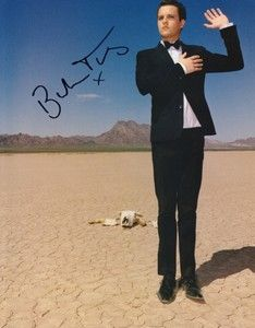 BRANDON FLOWERS The Killers SIGNED Autographed Poster CD Shirt Battle