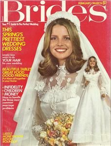 Brides Magazine February March 1975