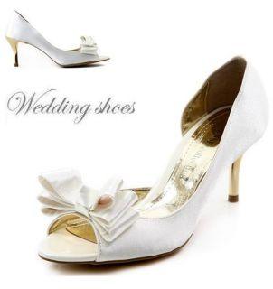 Wedding Bridal Heel Shoes Women High Heel Dress Shoes No 0722 Made in