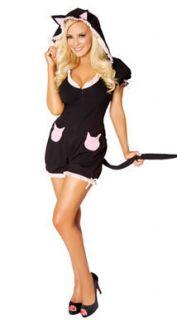 Bridget Marquardt Cat Adult Romper Halloween Costume