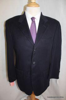 Arnold Brant Loro Piana Pure Cashmere Sport Coat Jacket Blazer Sz 42 R