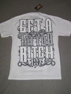 Brittanya OCampo I Love Tattooed 187 Inc Shirt White SS Short Sleeve