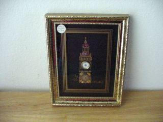 Ken Broadbent Watch Parts Big Ben Clock Collage Framed Picture