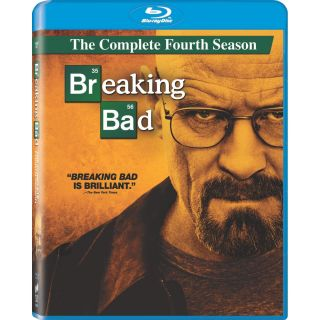 New Breaking Bad The Complete Fourth Season 4 Blu Ray 2011 3 Disc Set