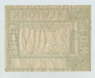 North German Lloyd SS Bremen New York Steamship Ocean Liner Adv Label