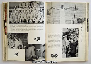 USS Bremerton CA 130 Westpac Cruise Book 1959 1960