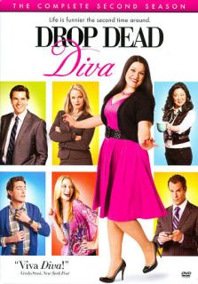 Drop Dead Diva The Complete Second Season DVD Brooke Elliott