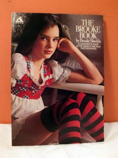 Vintage 1978 Brooke Book Brooke Shields Wallaby Fashion Photography