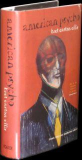 BRET EASTON ELLIS   American Psycho   1ST UK EDITION HARDCOVER