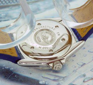 Ladies Breitling Callistino Mother of Pearl Diamond Dial Diamond Bezel