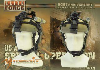 Hot 1 6 BBI Toys Army SF Beret Joe Brennan Camo Mich Helmet NVG Lot 07