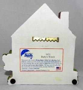 Brian Baker Dejavu Rubs Watch Victorian House 1631 1996