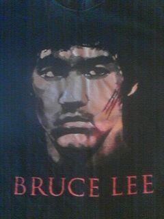 Bruce Lee Mens Black Large Shirt