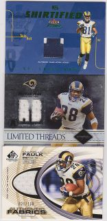 BGS 9.5 AUTO TOPPS ROOKIE PREMIER ISAAC BRUCE 1/1 LOGO PATCH LOT