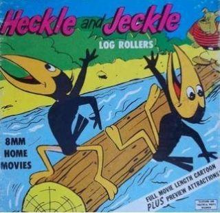 HECKLE & JECKLE LOG ROLLERS SUPER 8MM CARTOON FILM TERRYTOONS CLASSIC