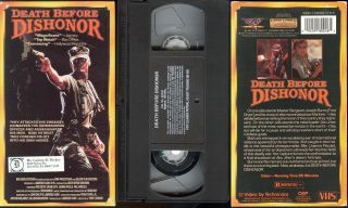 Death Before Dishonor VHS Fred Dryer Brian Keith 092091800485