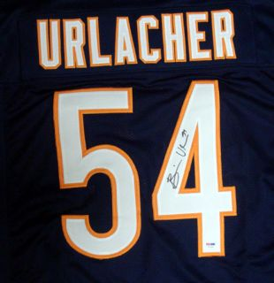Brian Urlacher Autographed Signed Bears Jersey PSA DNA
