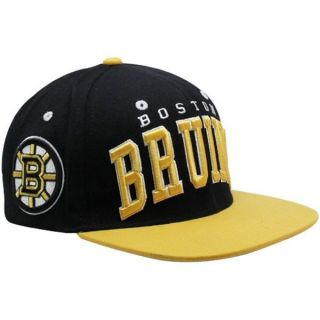 NHL Zephyr Boston Bruins Superstar Hat Cap Adjustable Snapback Flat