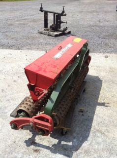 BRILLION SEEDER, 3 POINT HITCH, 10 HRS. OF USE