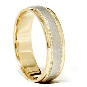 Yellow Gold 950 Platinum Solid Brushed Wedding Ring Band 6 12