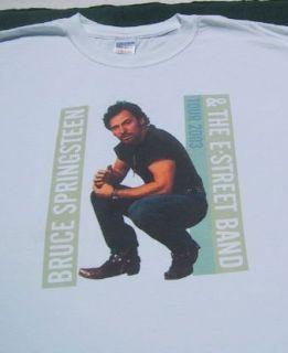 Bruce Springsteen E Street 2003 Tour XL Concert T Shirt