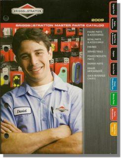BRIGGS STRATTON Genuine Engine Master Parts Accessories Catalog MS4185
