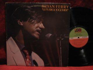 BRYAN FERRY Lets Stick Together LP Vinyl Record Album ROXY MUSIC
