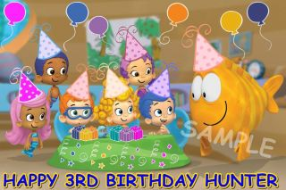 Bubble Guppies 2 Frosting Sheet Edible Cake Topper Image Decorations