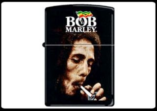Bob Marley Light My Spliff Zippo Lighter New in Box