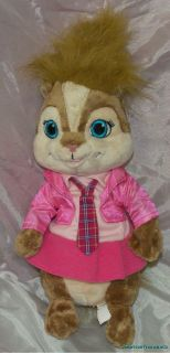 2009 Build A Bear Plush 12 Alvin Chipmunks Brittany Chipette