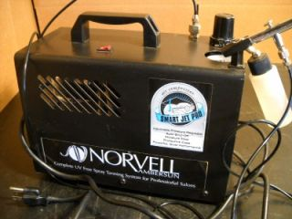 norvell ambersun smart jet pro spray tan system