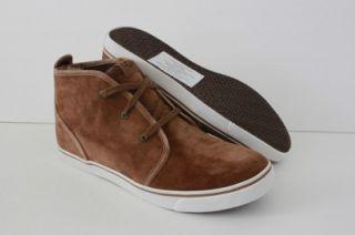 New UGG Australia Brockman Mens Brown Chukka Shoe Sneaker Boot Size 12