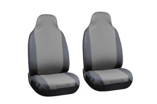 PU Faux Leather High Back Front Bucket Truck Auto Seat Covers