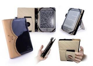 Tuff Luv Embrace Plus Brogue Case Cover for  Kindle 4 Touch 6 E